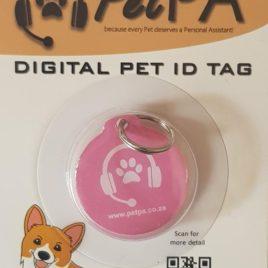 Pink Pet Digital ID Tag