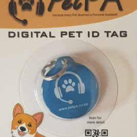 Blue Pet Digital ID Tag