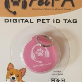 Pink Pet Digital ID Tag